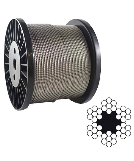 6 7 or 6 9 Steel Wire Rope