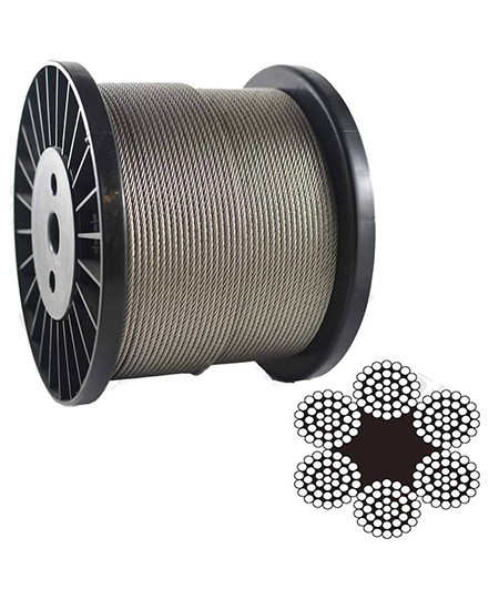 6 37 Steel Wire Rope