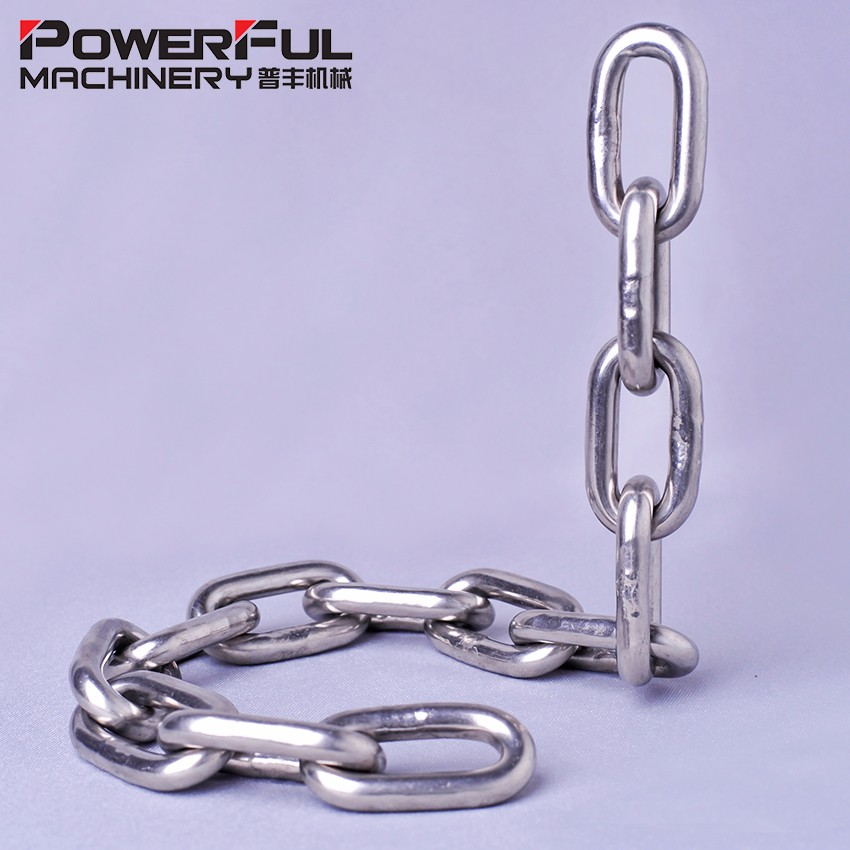 Stainless Steel DIN764 Medium Link Chain