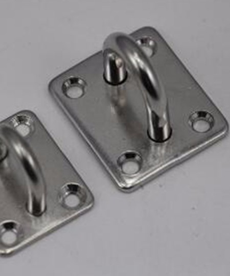 Stainless Steel Square Eye Plate, Square Pad Eye