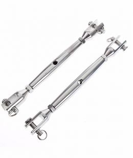 Stainless Steel JIS Type Close Body Turnbuckle Jaw Jaw Type
