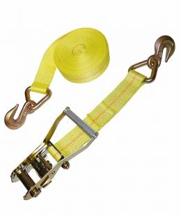 2″ Ratchet Tie Down With Grab Hook