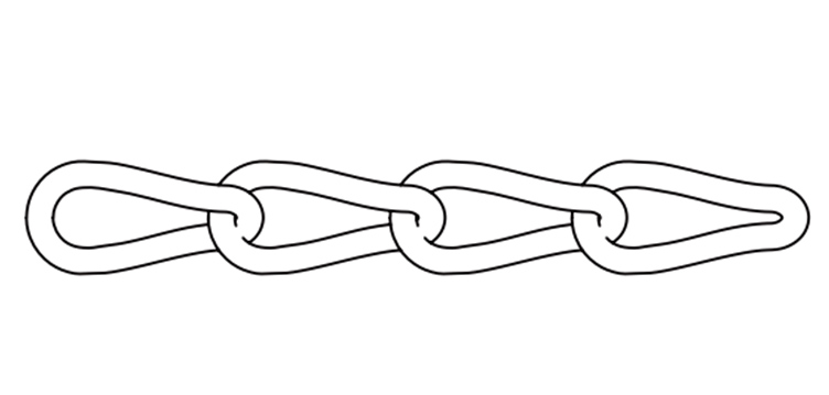 US TYPE MACHINE TWIST LINK CHAIN