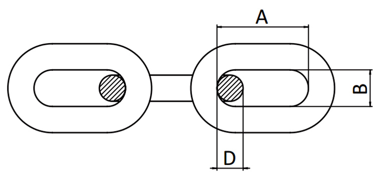 DIN5685 LINK CHAIN