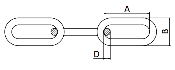 SS DIN763 LINK CHAIN