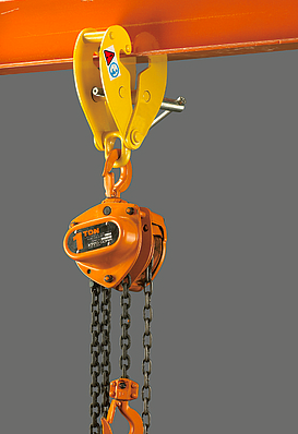 YC STANDARD BEAM CLAMP WITH SHACKLE